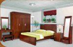 Kamar Set Jati Minimalis Queen