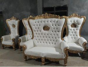 Set Sofa Pelaminan Syahrini Mahkota