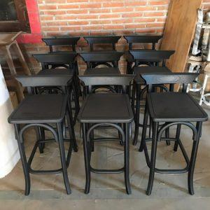 Kursi Bar Kayu Jati Cafe