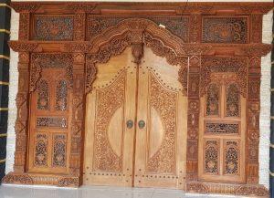 Gebyok Pintu Jati Mewah