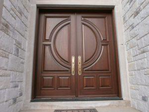 Kusen Pintu Kayu Jati Perhutani