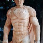 Patung Kayu Super Hero